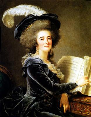 Portrait de la Comtesse de Selve faisant de la musique (1787), Adélaïde Labille-Guiard