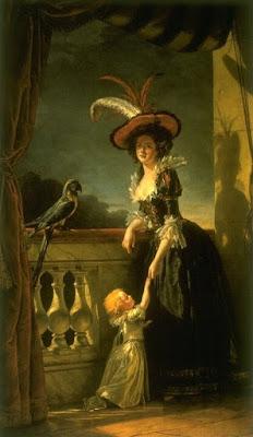 Louise Elisabeth avec son fils de deux ans (1788), Adélaïde Labille-Guiard