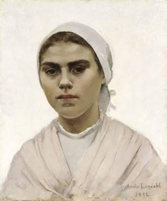 Jeune Bretonne (1882), Amelie Lundahl