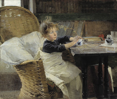 Convalescence (1888), Helene Schjerfbeck