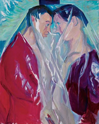 Couple (2005), Maria Lassnig