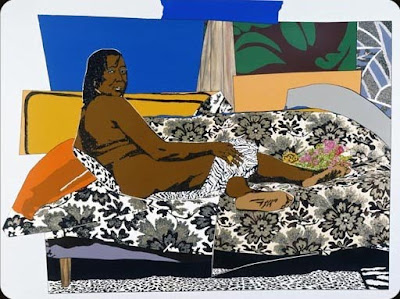 Mama Bush, One of a King II (2009), Mickalene Thomas
