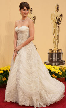 vestido Penélope Cruz en los Oscar