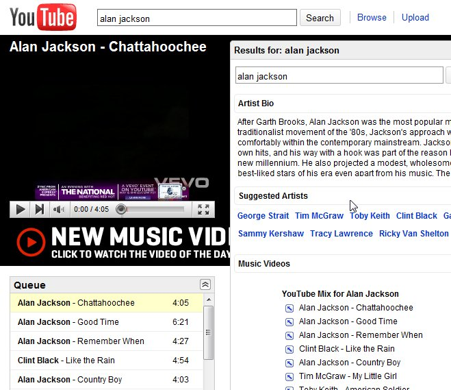 Ben's Journal: YouTube Disco - An Easy Way To Discover New Music