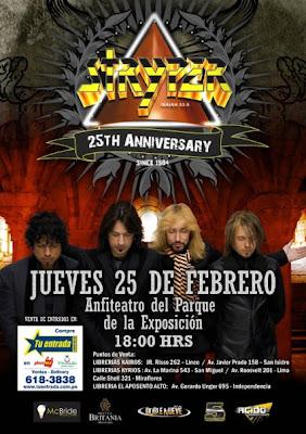 Stryper En Lima Venta De Entradas Dargedik Rock Metal Webzine