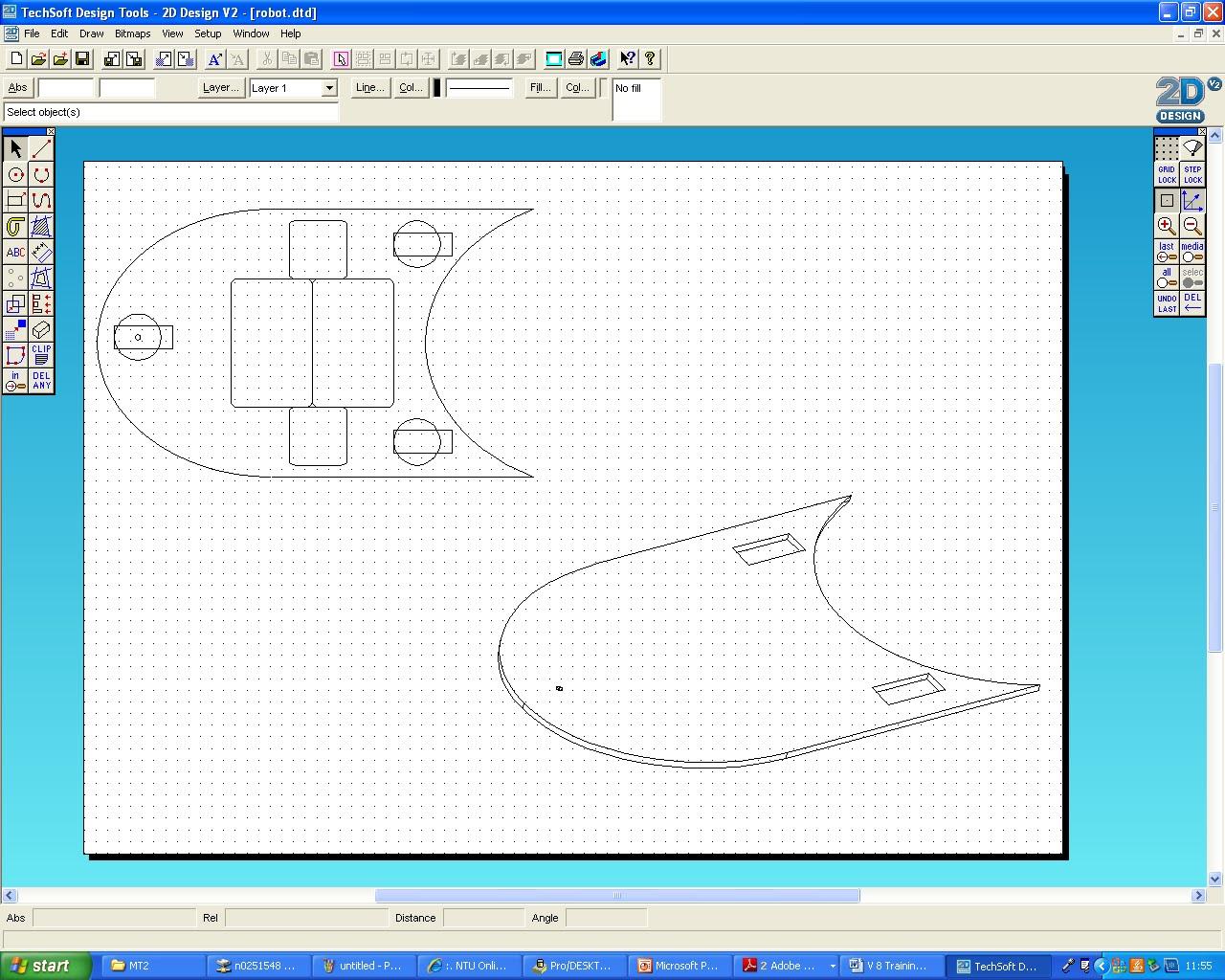 Nilesh - Product Design 2 ~ Module Task 2 - CAD: 2D Design