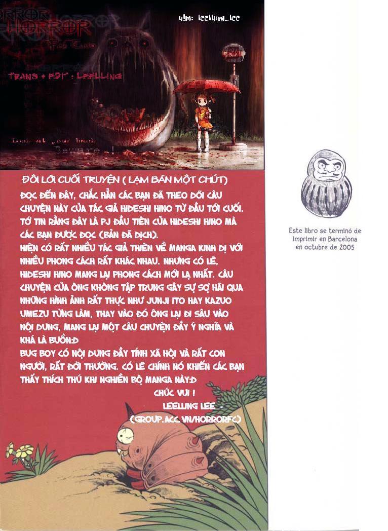 The Bug Boy chap 6 end trang 32