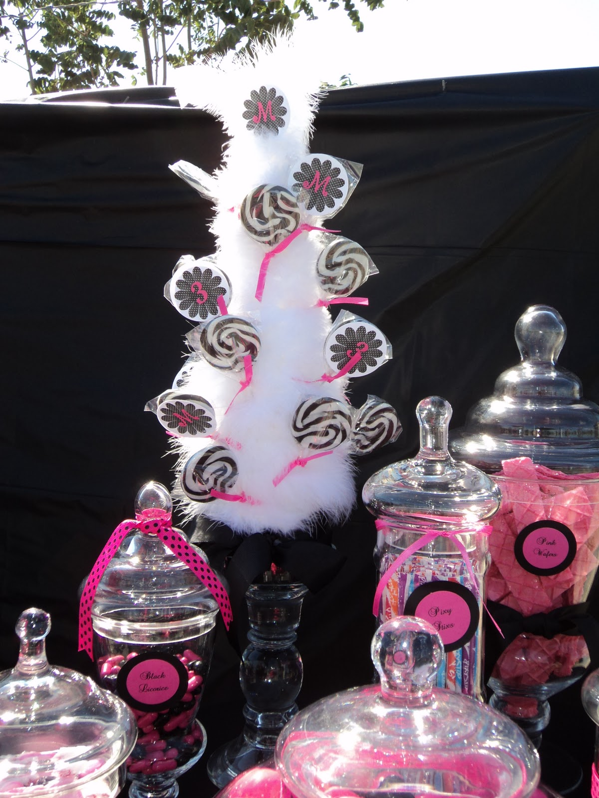 Spoonful Of Sugar Custom Candy Buffets: Back To Back In