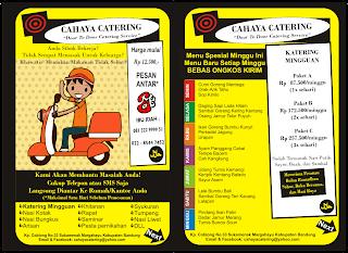 Brosur Catering Rumahan : Contoh Stempel Katering Makanan ...