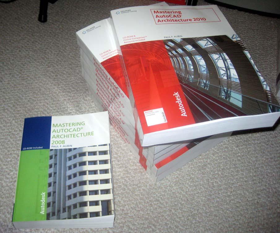 Paul F  Aubin's Blog: Mastering AutoCAD Architecture has arrived!