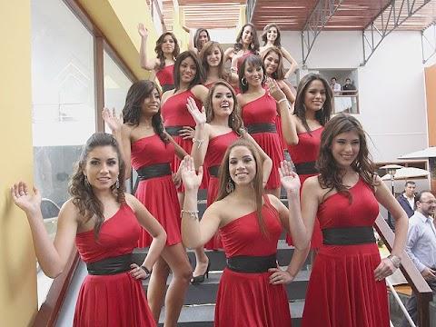 Candidatas a Miss Teen Perú 2010