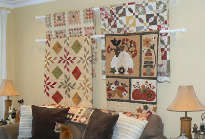 The Pattern Basket Quilt Display Ideas