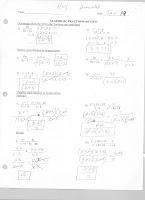Mr. Napoli's Algebra: January 2011