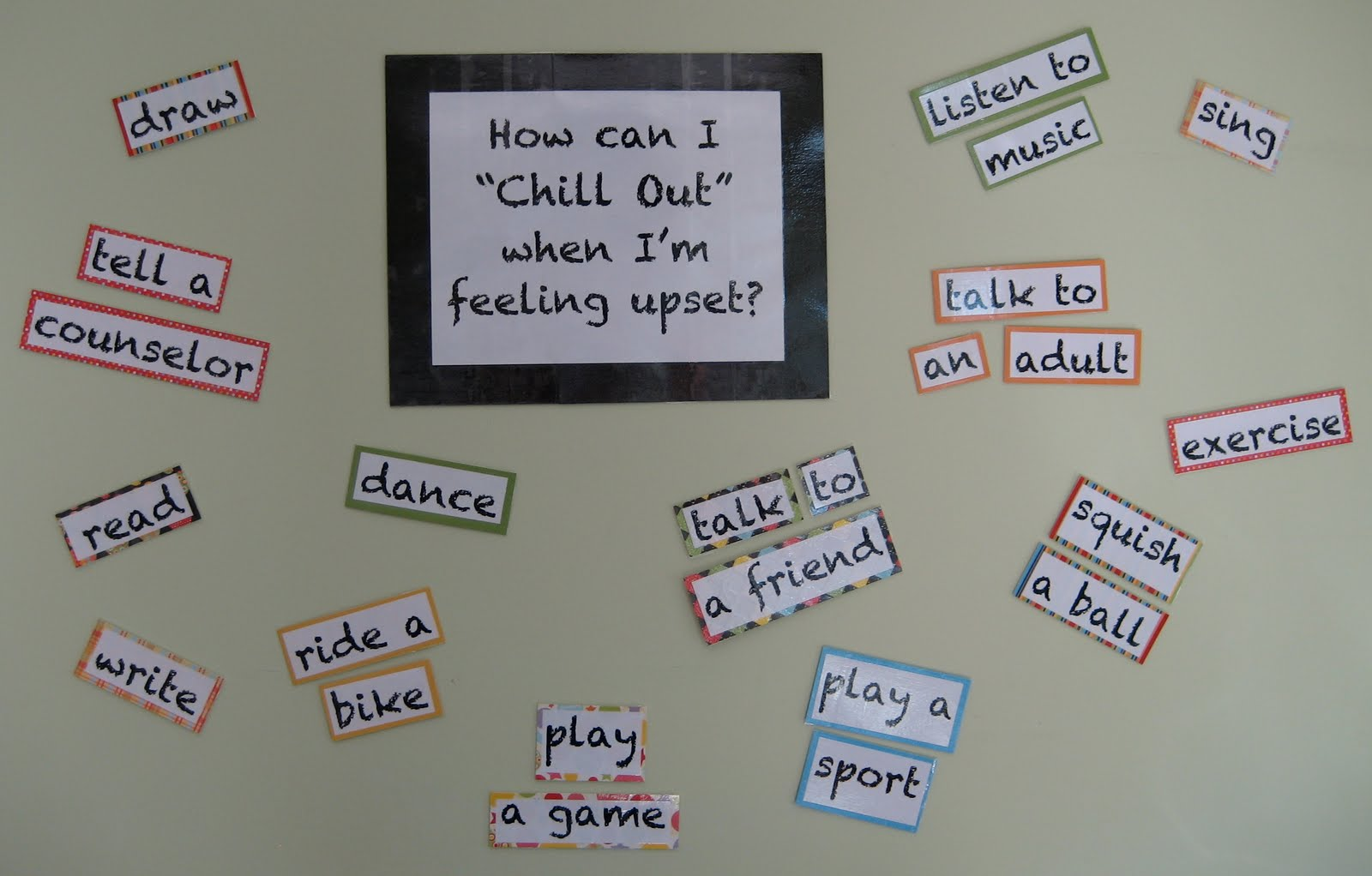 School Counselor Blog How Can I Chill Out When I M
