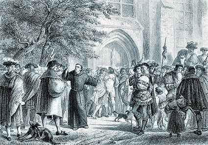 what was the 95 theses impact on the catholic church On 31 october 1517, he published his '95 theses', attacking papal abuses and  the  this turned him against many of the major teachings of the catholic church   luther's influence spread across northern and eastern europe and his fame.