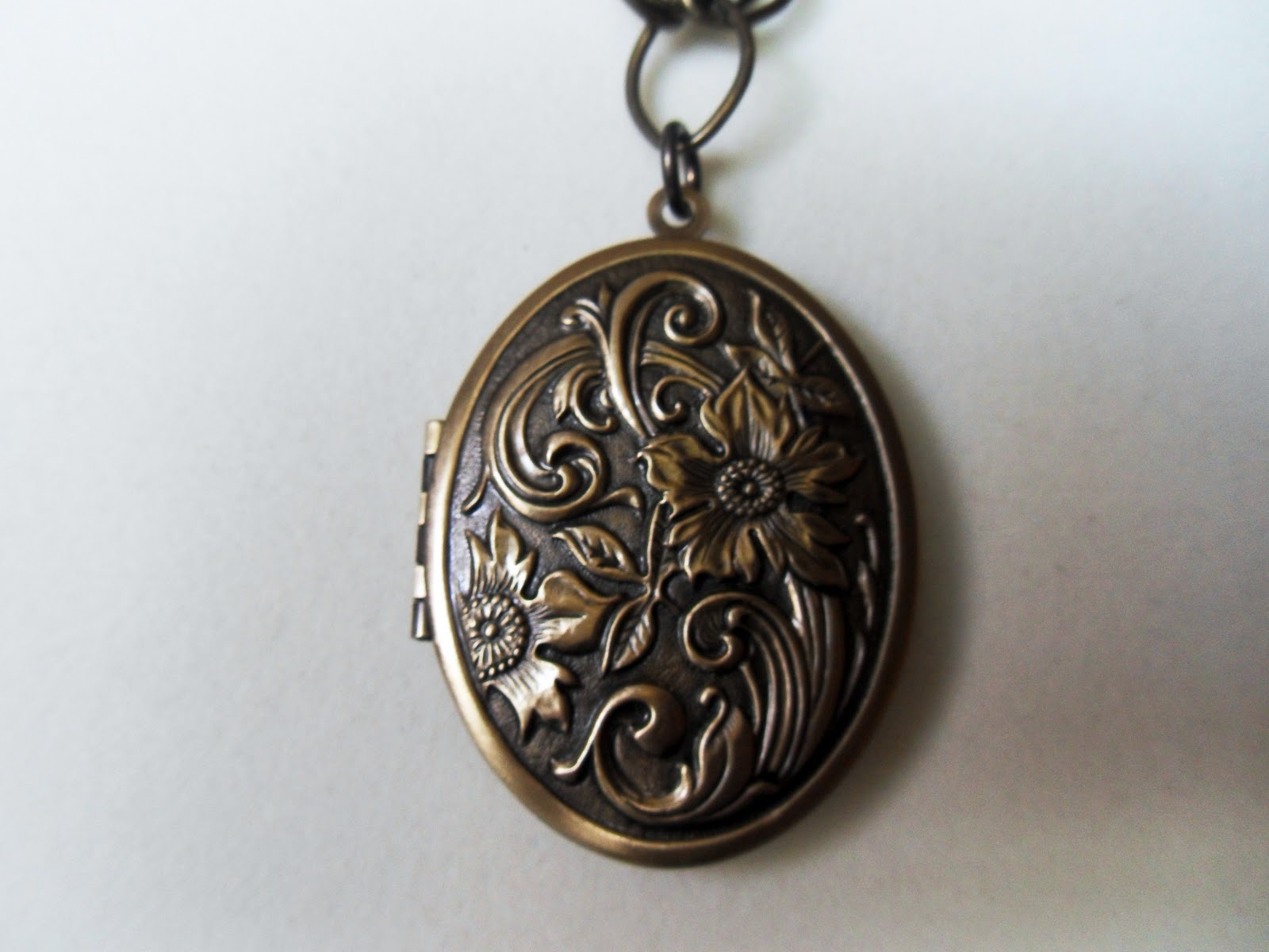 Vintage Brass Lockets 5