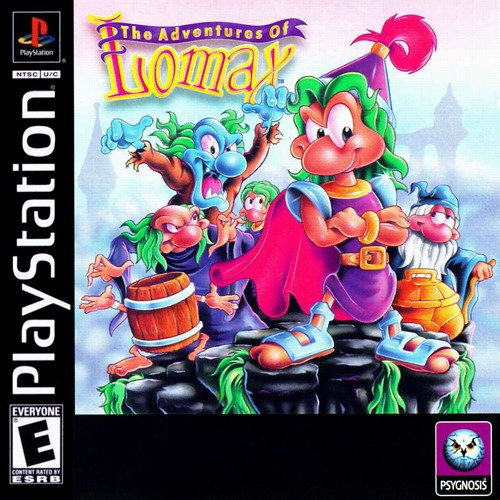 Psx Ripped Games Snesorama: Granville Video Games: The Adventures Of Lomax Playstation