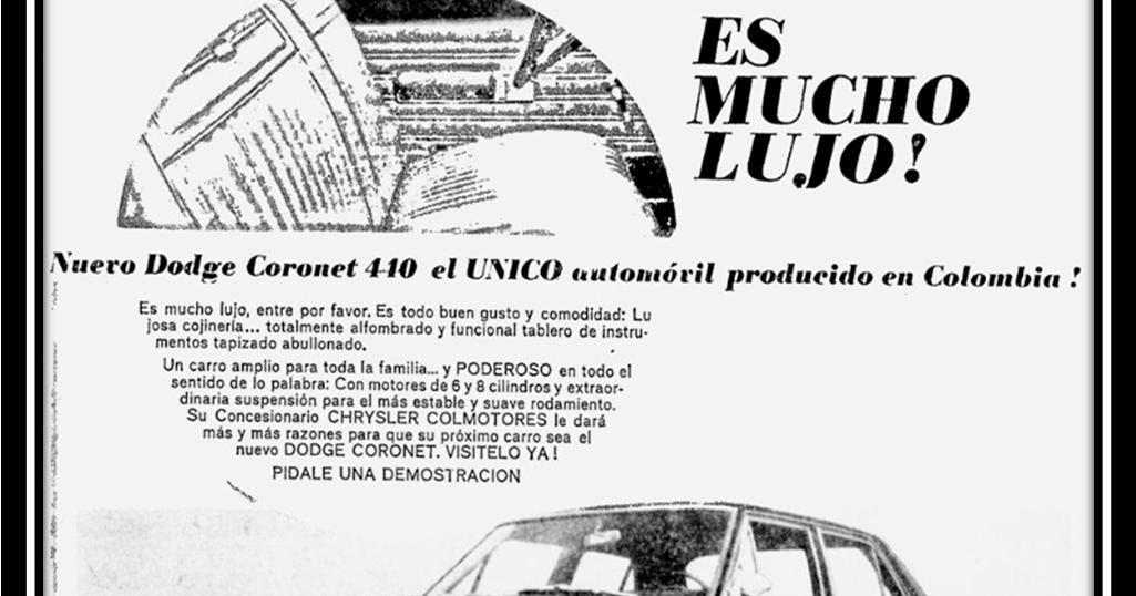 history cars colombia alberto jos u00e9 miranda cruz  dodge