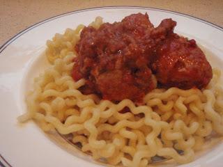 Claire's Spaghetti & Meatballs