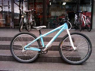自転車いじり