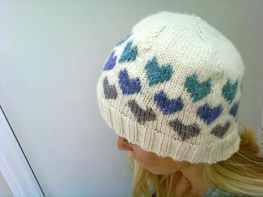 LuluKnits  I Heart Knitting Hat d3db022c73e