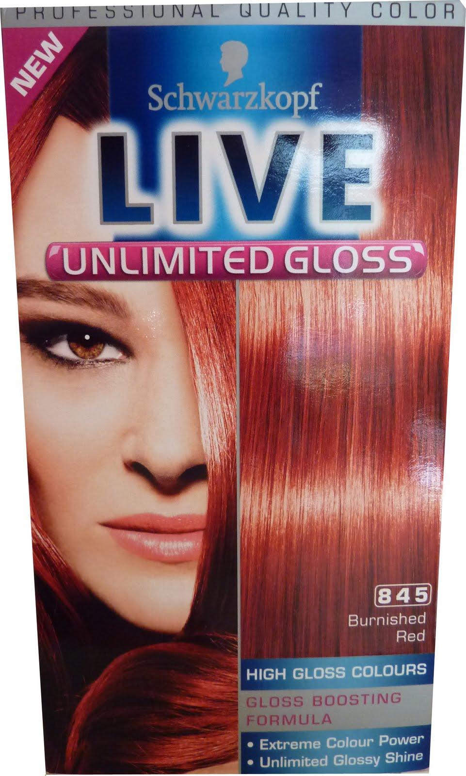 Sophie Jenner Schwarzkopf Live Hair Colour