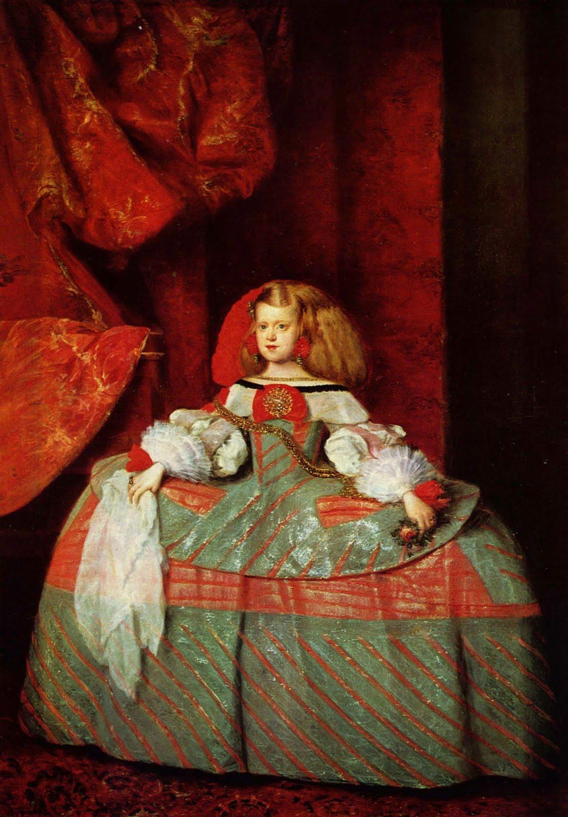 Infanta Margarita de Austria - Vel?zquez