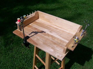 Shed Plans 10x12 Portable Fly Tying Bench Plans Wooden Plans