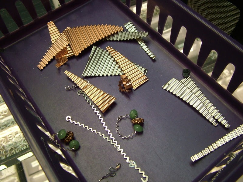 Handmade Resin Jewelry By Katherine Swift Corrugated