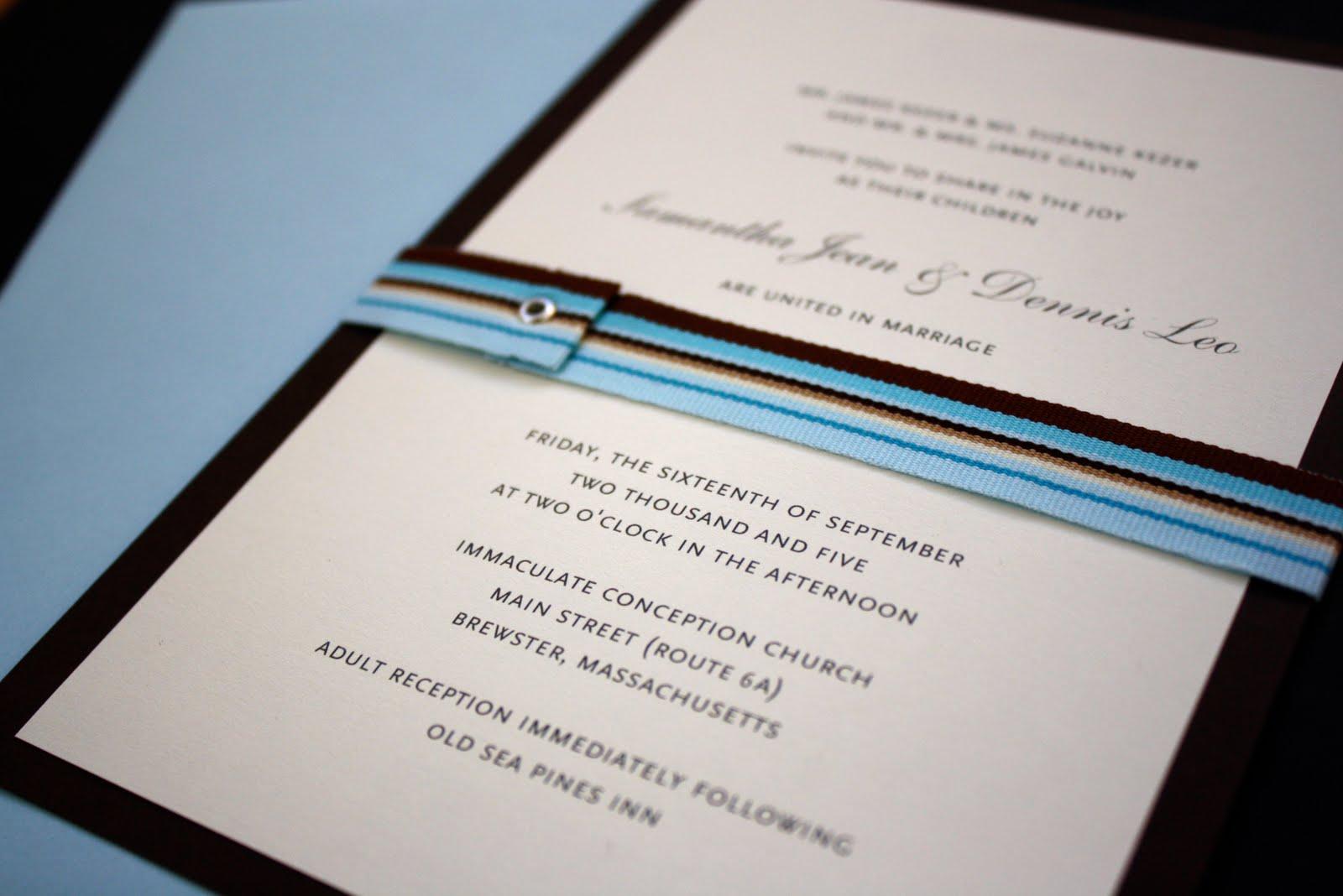 Wedding Invitation Giveaway: Little Birdie Studio: Wedding Invitation Giveaway