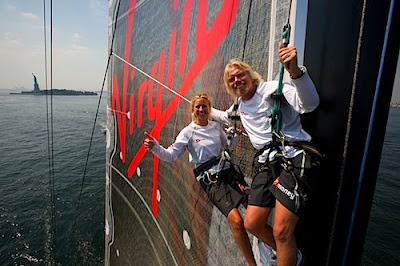 picture of richard branson on yacht
