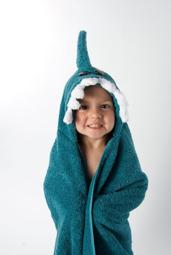 Animal Hooded Towels For Children