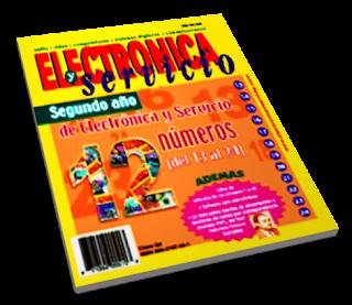 12 Revistas de Electrónica y Servicio