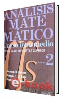 Analisis Matematico Vol. 2 Haaser La Salle Sullivan