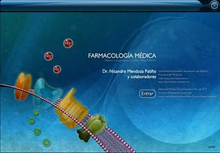 CD Interactivo Farmacología Medica – Nicandro Mendoza Patiño