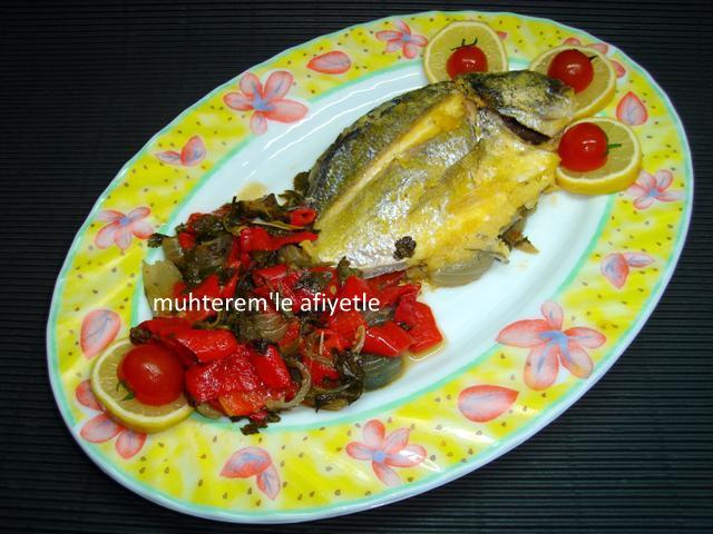 fırın poşetinde balık nasıl yapılır?