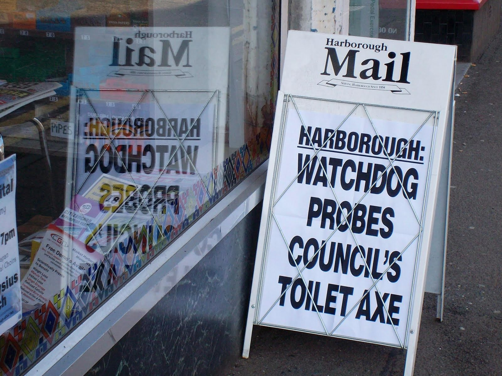 Placard But Liberal England Newspaper Placard Of The Day