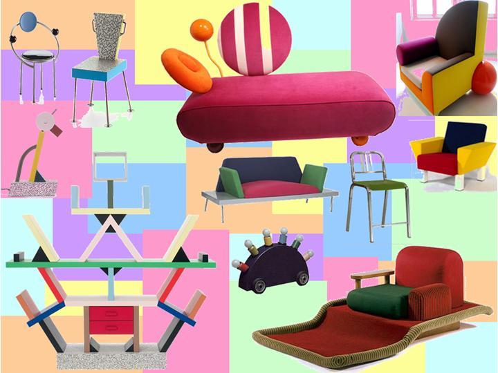 Becky's Blog: Memphis Design Chair PowerPoint