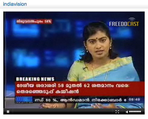Indiavision live tv from kerala chat