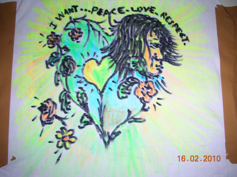 I WANT....PEACE, LOVE, RESPECT: March 8 th 2010