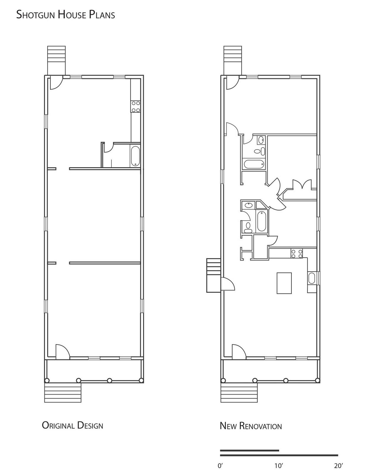 Shotgun House Design: 11 Best Photo Of New Orleans Shotgun House Plans Ideas