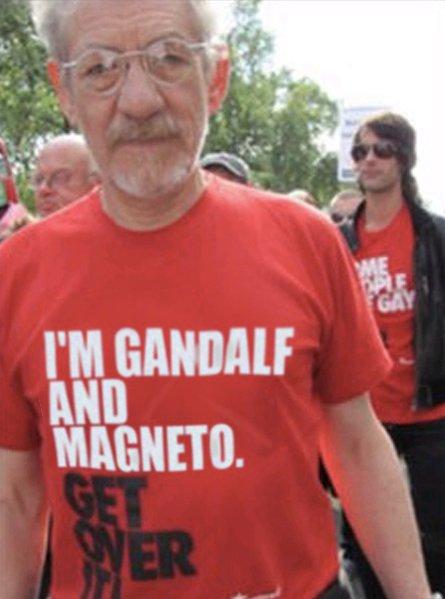DAILY BBG: Gandalf and Magneto