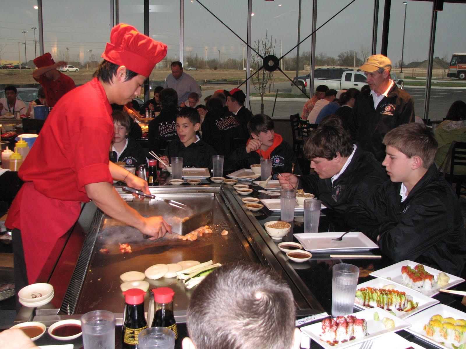 2010 Oregon Middle School National Duals Dinner At Osaka