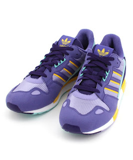 livraison gratuite 321c0 0ac62 u n t y t e l d: adidas ZX800 Purple/Yellow/Turquoise