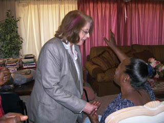 preaching the Word of God and ministering laying on of hands for healing and deliverance