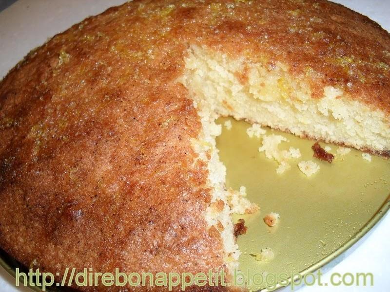 Basic Lemon Drizzle Cake Recipe