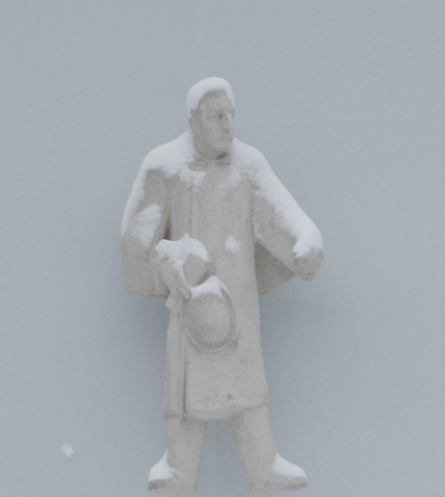 beeldende kunst sneeuwpop