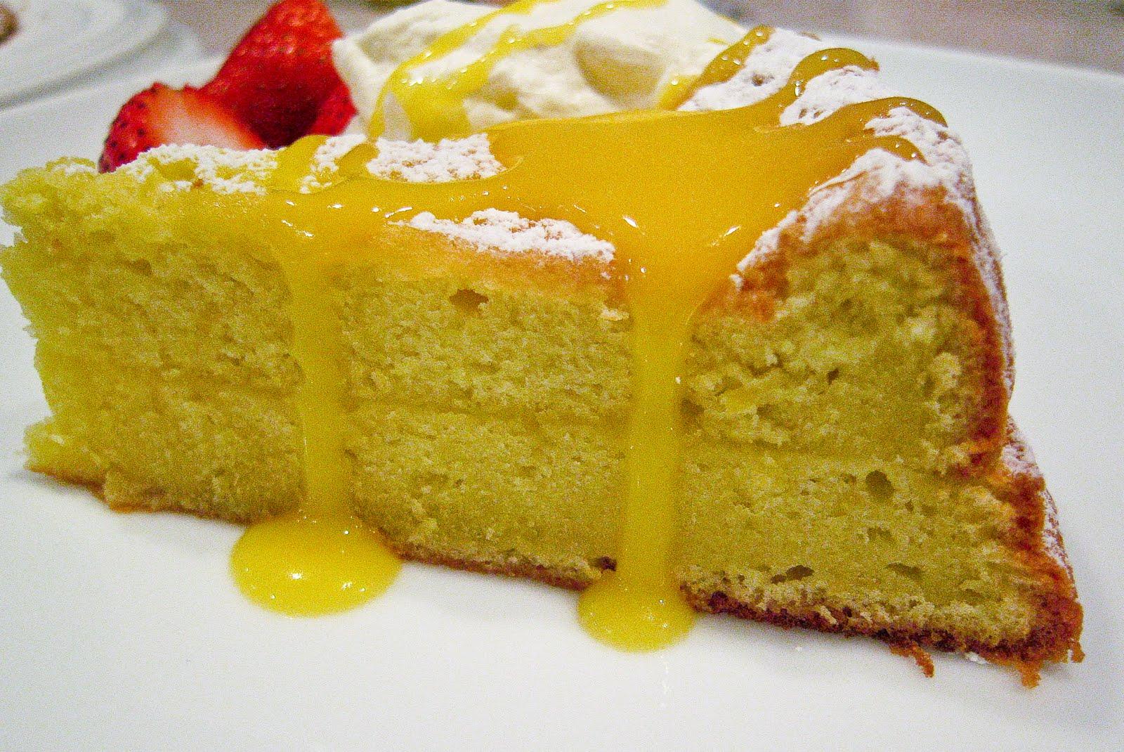 Rustic Proven 231 Al Lemon Cake With Lemon Curd Amp Whipped