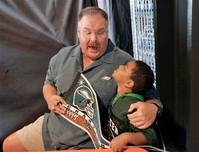 Andy Reid: Eagles Head Coach/Future Mall Santa Claus