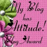 My Blog has Attitude Award